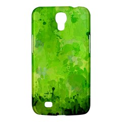 Splashes Of Color, Green Samsung Galaxy Mega 6 3  I9200 Hardshell Case by MoreColorsinLife