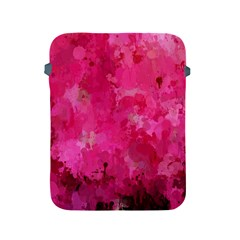 Splashes Of Color, Hot Pink Apple Ipad 2/3/4 Protective Soft Cases by MoreColorsinLife