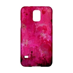 Splashes Of Color, Hot Pink Samsung Galaxy S5 Hardshell Case  by MoreColorsinLife
