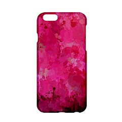 Splashes Of Color, Hot Pink Apple Iphone 6/6s Hardshell Case by MoreColorsinLife