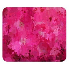 Splashes Of Color, Hot Pink Double Sided Flano Blanket (small)  by MoreColorsinLife