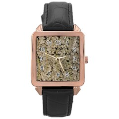 Grey Tree Bark Rose Gold Watches by trendistuff