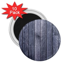 Grey Fence 2 25  Magnets (10 Pack)  by trendistuff