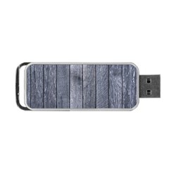 Grey Fence Portable Usb Flash (two Sides) by trendistuff