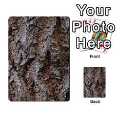 Douglas Fir Bark Multi Purpose Cards (rectangle)  by trendistuff