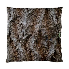 Douglas Fir Bark Standard Cushion Case (one Side)  by trendistuff