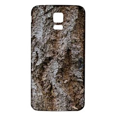Douglas Fir Bark Samsung Galaxy S5 Back Case (white) by trendistuff