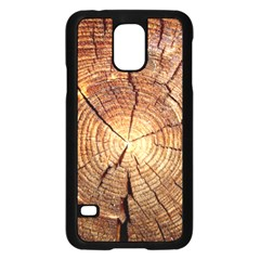 CROSS SECTION OF AN OLD TREE Samsung Galaxy S5 Case (Black) by trendistuff