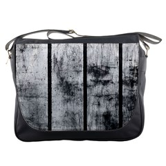 Black And White Fence Messenger Bags by trendistuff
