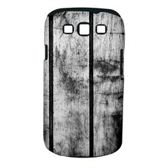 Black And White Fence Samsung Galaxy S Iii Classic Hardshell Case (pc+silicone) by trendistuff