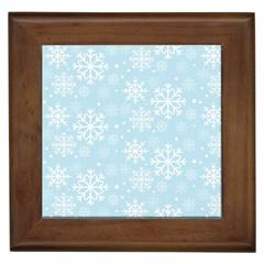 Frosty Framed Tiles by Kathrinlegg