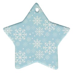 Frosty Star Ornament (two Sides)