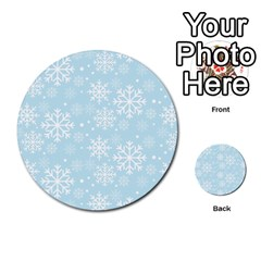 Frosty Multi Purpose Cards (round)  by Kathrinlegg