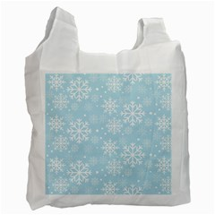 Frosty Recycle Bag (Two Side)  by Kathrinlegg