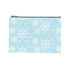 Frosty Cosmetic Bag (large)  by Kathrinlegg