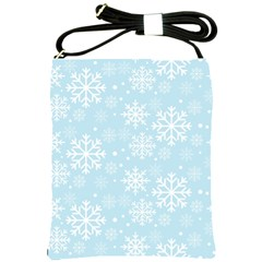 Frosty Shoulder Sling Bags by Kathrinlegg