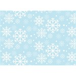 Frosty LOVE 3D Greeting Card (7x5)  Front