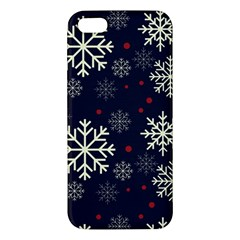 Snowflake Apple Iphone 5 Premium Hardshell Case by Kathrinlegg