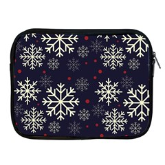 Snowflake Apple Ipad 2/3/4 Zipper Cases by Kathrinlegg