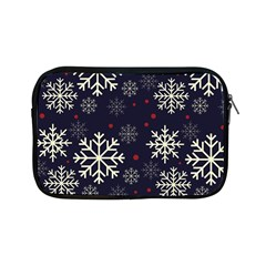 Snowflake Apple Ipad Mini Zipper Cases by Kathrinlegg