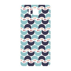 Moon Pattern Samsung Galaxy Alpha Hardshell Back Case by Kathrinlegg