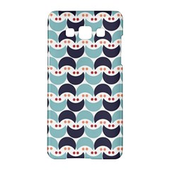 Moon Pattern Samsung Galaxy A5 Hardshell Case  by Kathrinlegg