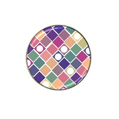 Dots And Squares Hat Clip Ball Marker (10 Pack) by Kathrinlegg