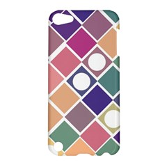 Dots And Squares Apple Ipod Touch 5 Hardshell Case by Kathrinlegg