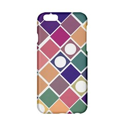Dots And Squares Apple Iphone 6/6s Hardshell Case by Kathrinlegg