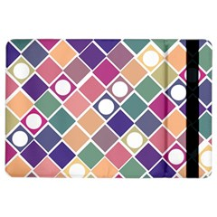 Dots And Squares Ipad Air 2 Flip by Kathrinlegg