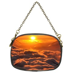SUNSET OVER CLOUDS Chain Purses (Two Sides)  by trendistuff