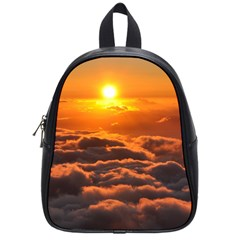 Sunset Over Clouds School Bags (small)  by trendistuff