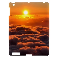 Sunset Over Clouds Apple Ipad 3/4 Hardshell Case by trendistuff