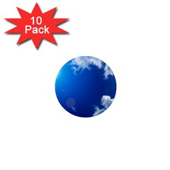 Sun Sky And Clouds 1  Mini Magnet (10 Pack)