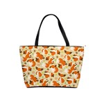 Curious Maple Fox Large Shoulder Bag