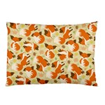 Curious Maple Fox Pillow Case (Two Sides)