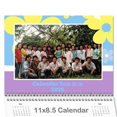Ban Xua 2 By Phuong Duong   Wall Calendar 11  X 8 5  (12 Months)   Zw83xilr8jpv   Www Artscow Com Cover