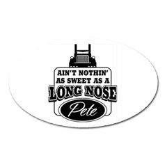 Pete Oval Magnet by teambridelasvegas