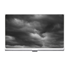 Storm Clouds 1 Business Card Holders by trendistuff