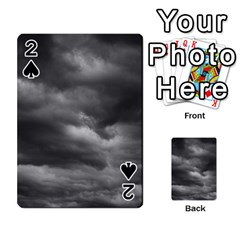 Storm Clouds 1 Playing Cards 54 Designs  by trendistuff