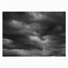 Storm Clouds 1 Large Glasses Cloth (2 Side) by trendistuff