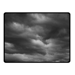 STORM CLOUDS 1 Double Sided Fleece Blanket (Small)  by trendistuff
