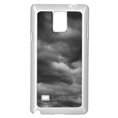 Storm Clouds 1 Samsung Galaxy Note 4 Case (white) by trendistuff