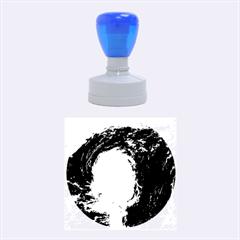 HURRICANE IRENE Rubber Round Stamps (Medium) by trendistuff