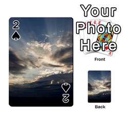 Heaven Rays Playing Cards 54 Designs