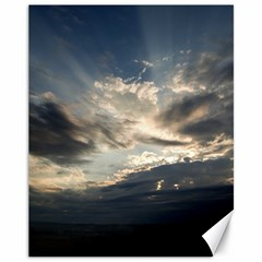 HEAVEN RAYS Canvas 11  x 14   by trendistuff