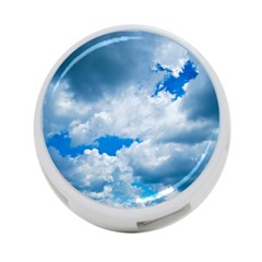 Cumulus Clouds 4 Port Usb Hub (two Sides)  by trendistuff