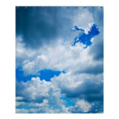 Cumulus Clouds Shower Curtain 60  X 72  (medium)  by trendistuff