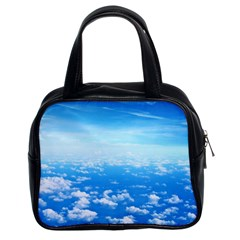 Clouds Classic Handbags (2 Sides) by trendistuff