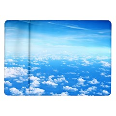 Clouds Samsung Galaxy Tab 10 1  P7500 Flip Case by trendistuff